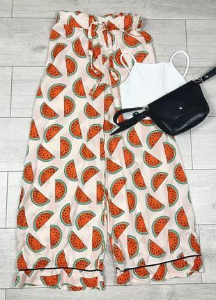 Пижамные брюки с арбузами asos