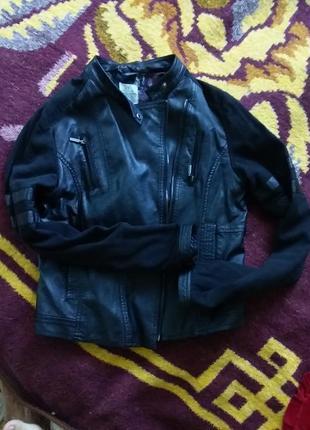 Куртка мото косуха кожанная куртка кожанка немецкая фирма