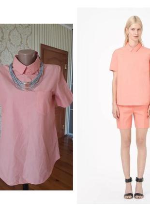 Оригинал ! нежная хлопковая блузка cos