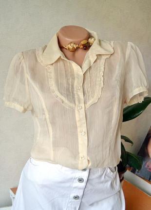 Блуза шифон miss selfridge брендовые вещи, обувь в летней распродаже! 2 вещь-50%