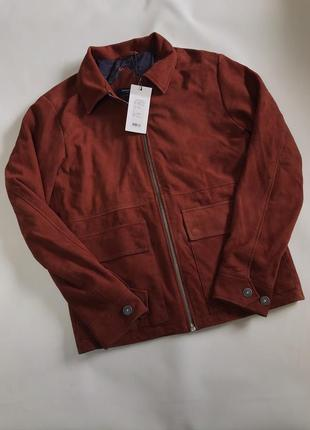New! замшевая куртка jack and jones { l }