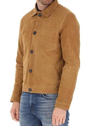 New! замшевая куртка selected homme { m-l }  jack jones