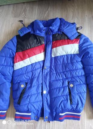 Куртка для мальчика на 10 лет