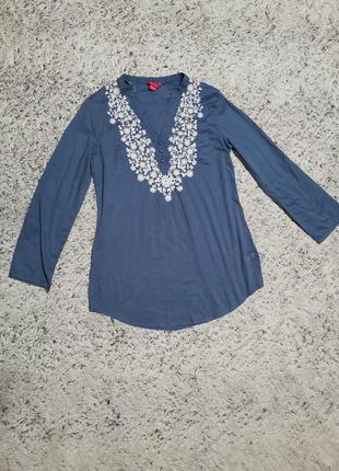 Туника с вышивкой, блузка с вышивкой. monsoon