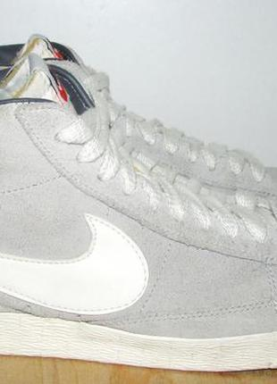 Nike замшевые кеды