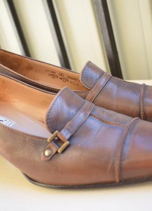 Кожаные туфли лодочки балет габор gabor р.5 на р.38