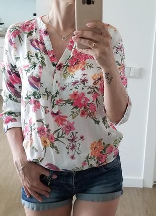 Блуза вискоза натуральная рубашка