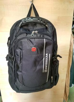 Чорный рюкзак для ноутбука swissgear 1792