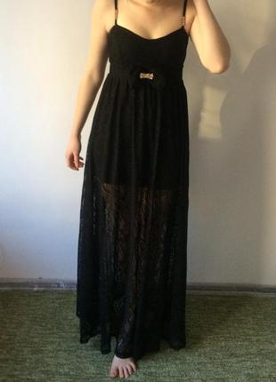 Купить Платье Гипюровое Кружевное