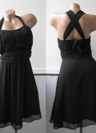 Платье шифоновое - монро (есть ньюанс)