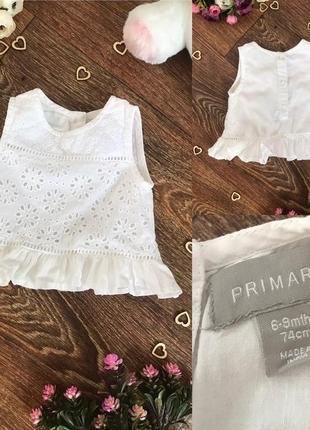 Легкая белоснежная блузочка