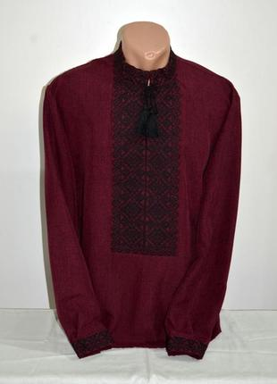 Чоловіча вишиванка, вышиванка, вишита сорочка розмір по коміру 42, наш 54