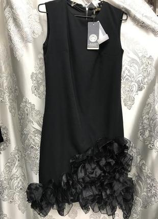 Оригинальное платье с бантом вечернее платье нарядное платье платье мили