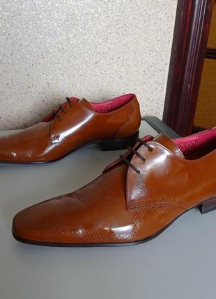 Jeffery west muse кожаные туфли ручной работы, испания.