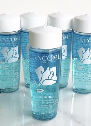 Двухфазная мицеллярная вода для снятия макияжа, lancome bi-facil