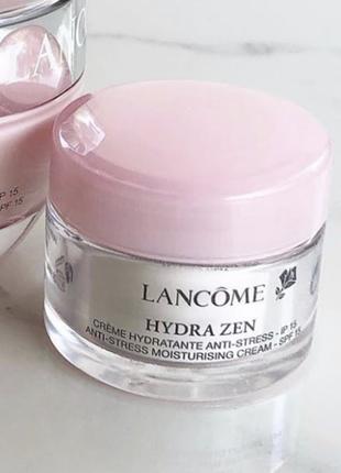 Увлажняющий дневной крем-антистресс для кожи лица, spf15, hydra zen day cream, spf15