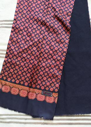 Двухсторонний шарф шелк + шерсть от hemley