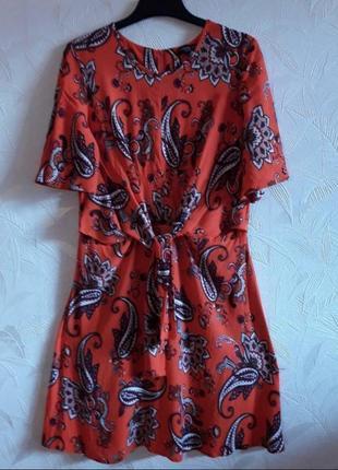 Нарядное летнее платье, 48-50-52, вискоза, dorothy perkins