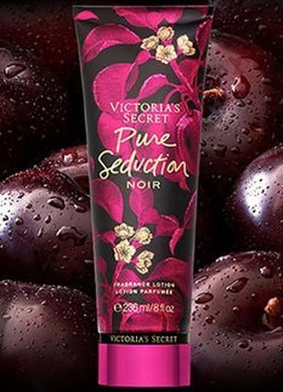 Парфюмированный лосьон victoria's secret pure seduction noir 12018