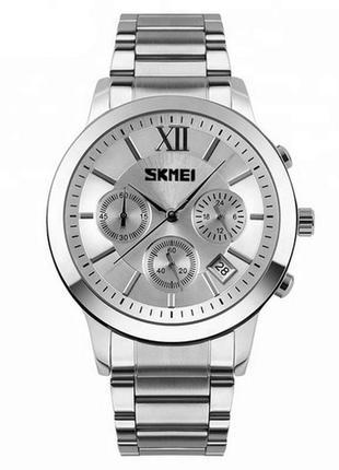Часы skmei 9097 silver-white