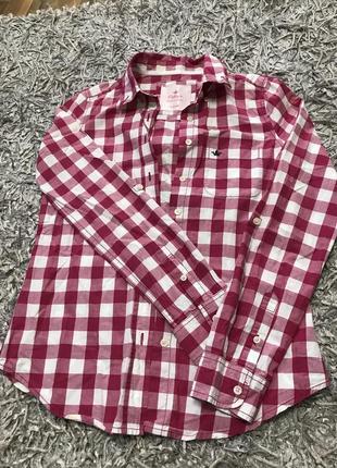 Летняя клетчатая рубашка colin's