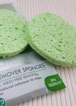 Спонжи для удаления маски ecotools mask remover sponges. оригинал