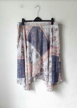 Летняя шифоновая юбка