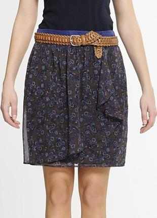 Новая шёлковая юбка mango