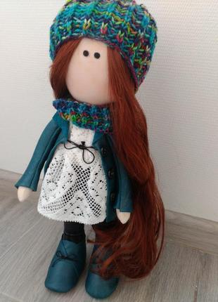 Текстильная куколка для интерьера бетти