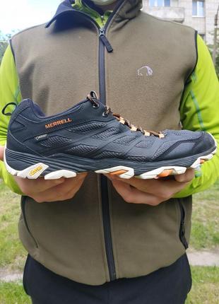Трекінгові кросівки merrell moab fst gore-tex  розмір 49 (31 см)