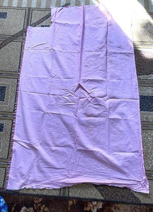Лускут ситцевой розовой ткани