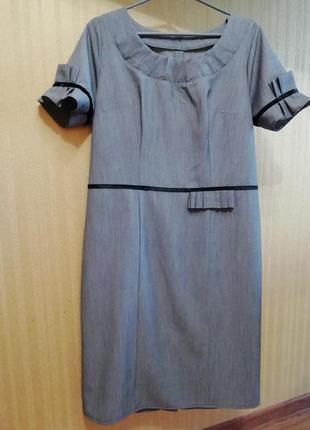 Офисное платье 50 размера.