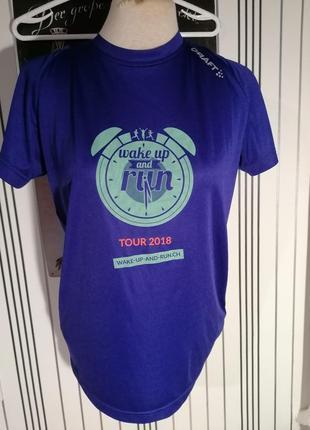 Спортивна футболка для бігова велосипедна