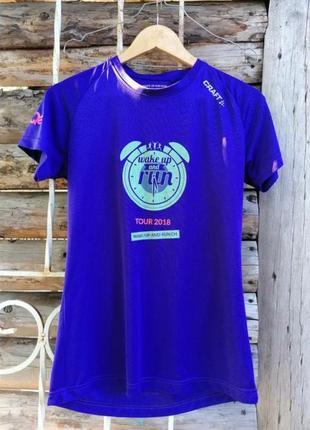Спортивна фіолетова футболка craft
