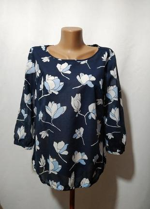 Блузка из тончайшего хлопка с рисунком