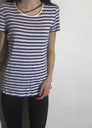 Женская футболка в полоску marks&spencer