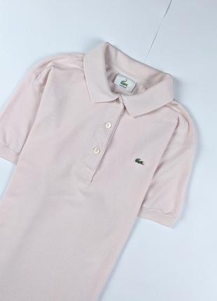 Поло футболка lacoste женская оригинал
