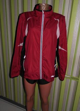 Куртка shamp l(44-46) 2 в 1 ветровка жилет спортивная
