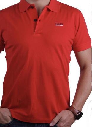 Мужская футболка тениска поло roberto cavalli l оригинал с голограммами