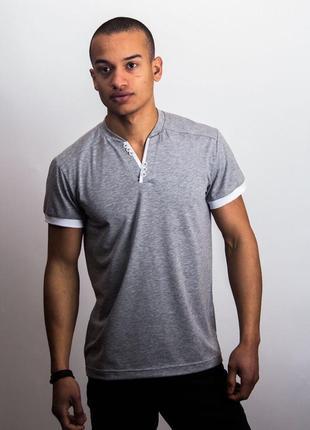 Мужская футболка хлопковая