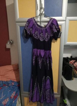 Платье батик индия р. 42-50