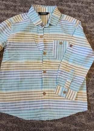 Рубашка, шведка на 3-4 года