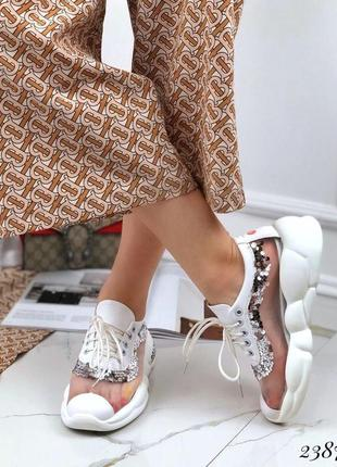 Кроссовки с сеткой