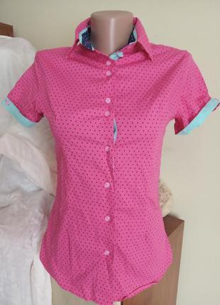 Блуза рубашка бавовняна