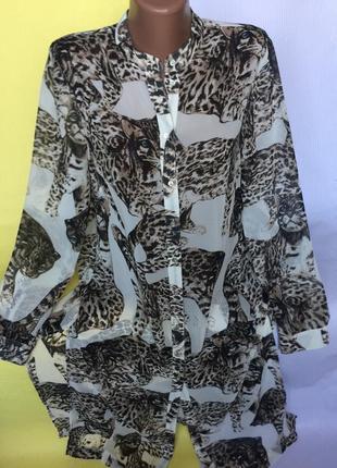 Шикарная длинная рубашка , туника