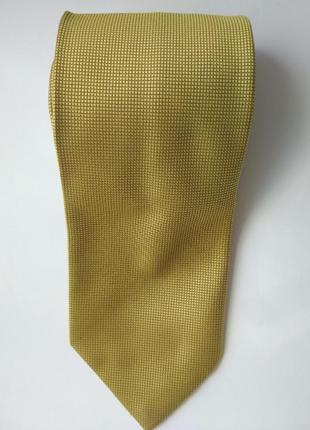 Галстук мужской m&s золотой цвет