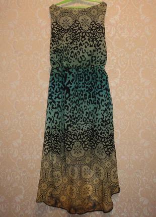 Платье шифоновое с подкладкой
