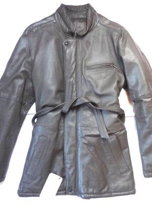 Куртка confezione  ,натуральная кожа,с этикеткой