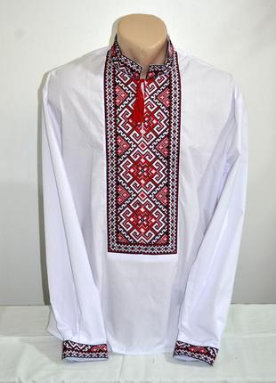 Чоловіча вишиванка, вышиванка, вишита сорочка  розмір по коміру 41,укр.52