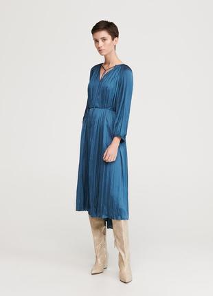 - 40% скидка атласное сатиновое платье бренд